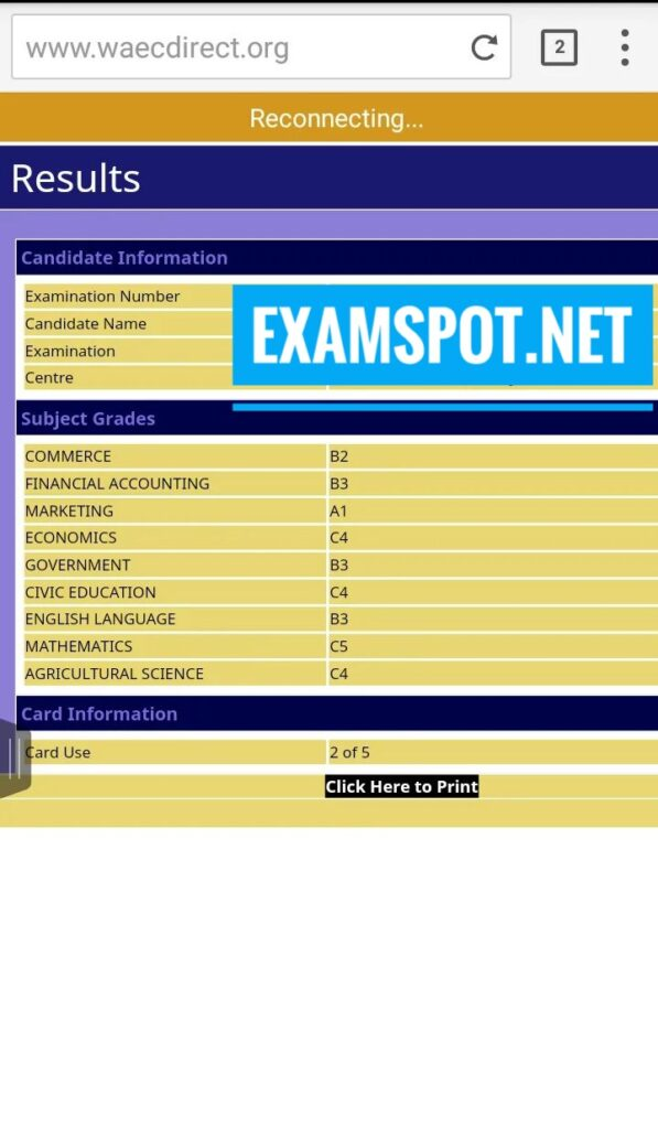 Waec questions and answers 2021