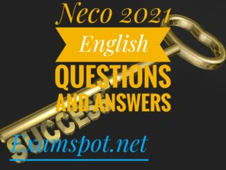neco english language expo questions and answers